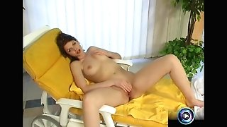 Katalin&039s Delicious Tits And Humid Slit