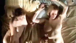 Three Lezzies Masturbating