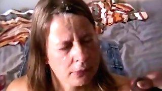 Swedish Hooker Facial Cumshot