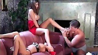 Hank Armstrong, Alexandra Silk, Coral Sands Hot Feet 3some