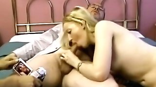 Cockriding Retro First-timer Gets Rectally Drilled