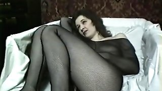 Russian Cougar Anna First-ever Nude Flick Part Two Have Fun With Massager