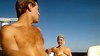 Ship Scene From Vacances A Ibiza (1981) With Marylin Jess